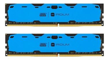 Operatīvā atmiņa (RAM) Goodram IRIDIUM Blue IR-B2400D464L15S/16GDC DDR4 16 GB CL15 2400 MHz