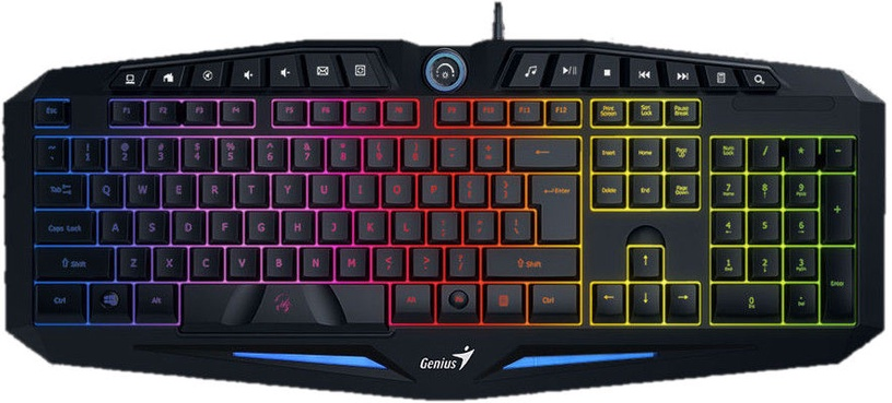 Genius Scorpion K9 Gaming Keyboard Black