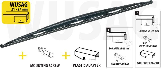Oximo WUSAG800 Wiper
