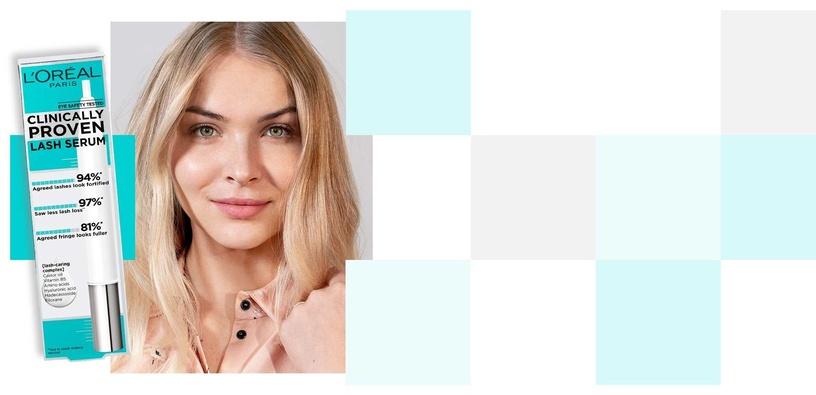 Сыворотка для лица L´Oreal Paris Clinically Proven Lash Serum, 1.9 мл