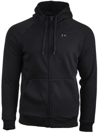 Under Armour Rival Fleece Full-Zip Hoodie 1320737-001 Black L