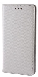 GreenGo Smart Magnet Book Case For Sony Xperia X Compact Silver