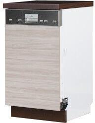 Нижний кухонный шкаф Bodzio Sandi KSZZ45-LA, серый, 450x590x860 мм