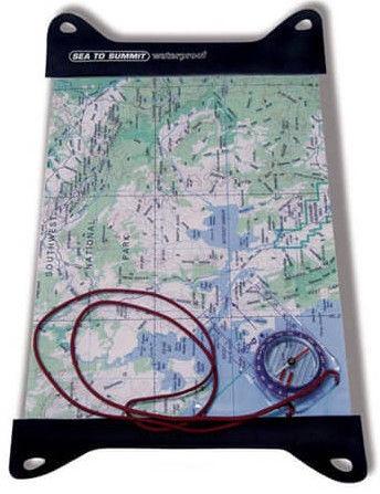 Sea To Summit TPU Guide Map Case L