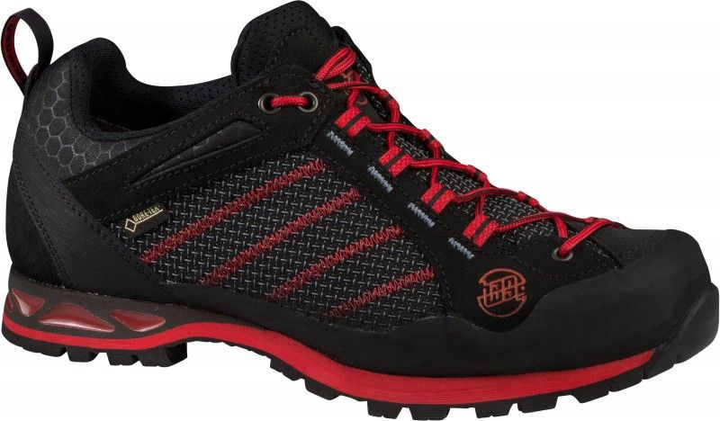 HanWag Makra Low GTX Black/Red 46.5
