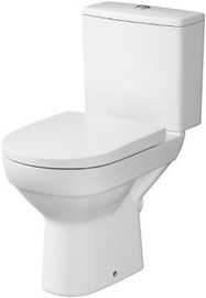Tualete Cersanit City New Clean On, ar vāku, 365x670 mm