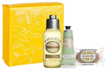 L´Occitane Almond 3pcs Set 155ml