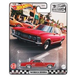 Bērnu rotaļu mašīnīte Hot Wheels Premium '64 Buick Riviera, sarkana
