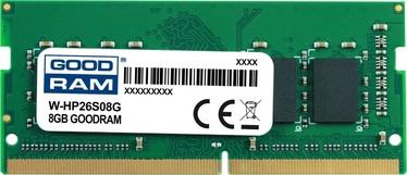 Operatīvā atmiņa (RAM) Goodram W-HP26S08G DDR4 (SO-DIMM) 8 GB CL19 2666 MHz