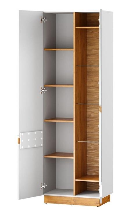 Szynaka Meble Visio 10 Display Unit Camargue Oak/White
