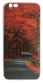 Mocco Trendy Autumn Road Silicone Back Case For Samsung Galaxy J3 J330