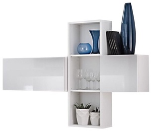ASM Blox SB I Hanging Cabinet Set White