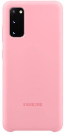 Samsung Silicone Back Case For Samsung Galaxy S20 Pink