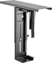 LogiLink EO0004 CPU Desk Slideable Mount Black