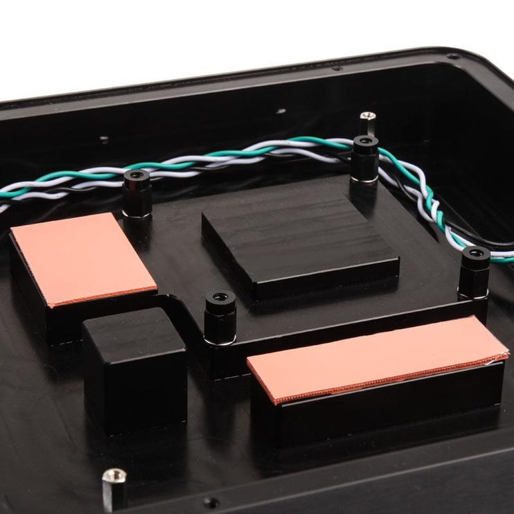 Impactics DMono 1 Case For Gigabyte Switch In Front Black