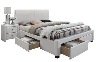 Кровать Halmar Modena 2 White, 160 x 200 cm