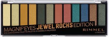 Тени для век Rimmel London Magnif'Eyes Jewel Rocks, 14 г