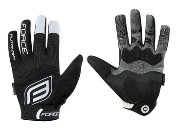 Force MTB Autonomy Full Gloves Black M