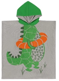 Zoocchini Kids Hooded Poncho Aidan The Alligator