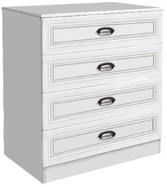 Borovichi Mebel Klasika 7.06 Chest Of Drawers White