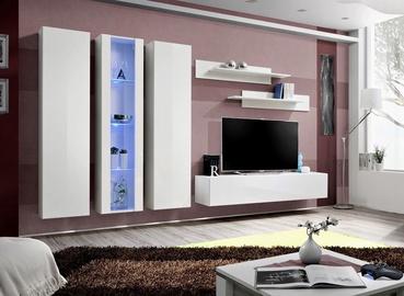 Dzīvojamās istabas mēbeļu komplekts ASM Fly C4 White