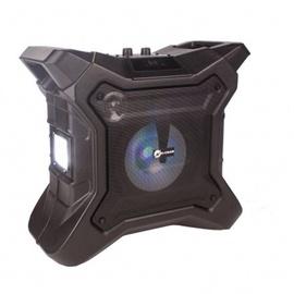 Bezvadu skaļrunis N-GEAR Streetbox The X, melna, 200 W