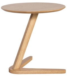 Kafijas galdiņš Home4you Lana, ozola, 500x500x500 mm