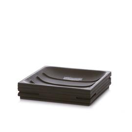Ziepju trauks BPO-035C 11,6x11,6x2,6cm, melns