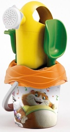 Smilšu kastes rotaļlietu komplekts Rainbow 44 Cats Bucket Set With Watering Can