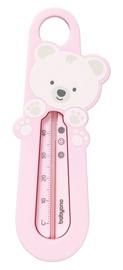 BabyOno Bear Bath Thermometer Pink