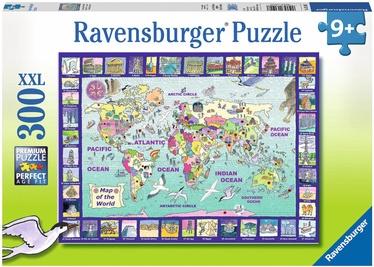 Puzle Ravensburger Looking At The World 131907, 300 gab.