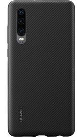 Huawei PU Back Case for Huawei P30 Black