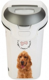 Curver Food Keeper Love Pets Dogs 6kg 15L