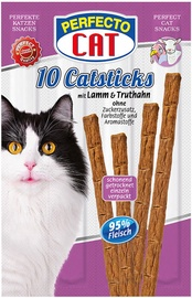 Perfecto Cat Snack Sticks Lamb & Turkey 10pcs