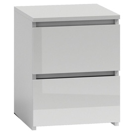 Top E Shop Malwa W2 Night Stand Lacquer White
