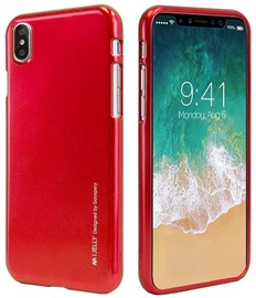 Mercury i-Jelly Back Case For Apple iPhone X Red