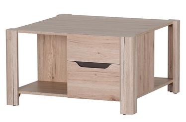 Kafijas galdiņš Szynaka Meble Desjo 41 San Remo Oak, 800x800x460 mm