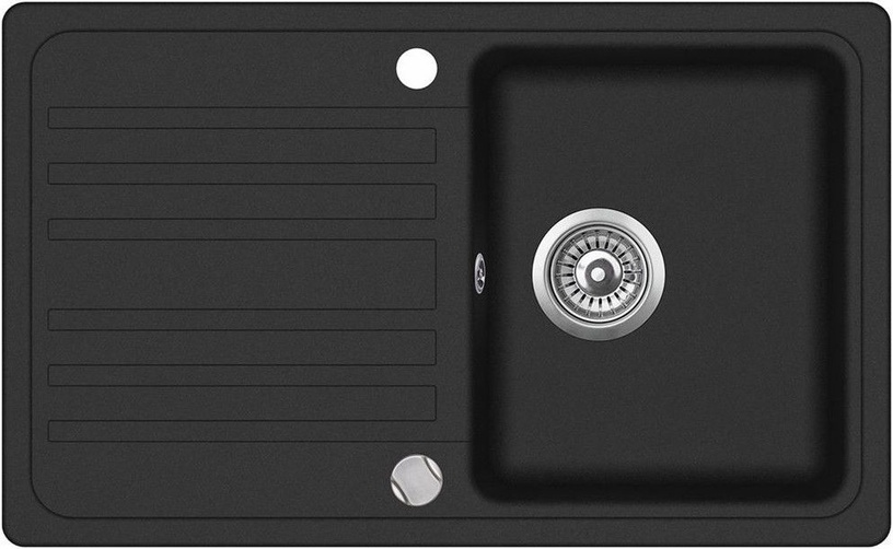 Aquasanita SQ101 Black 460x765mm