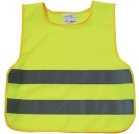 AutoDuals Reflective Vest for Kids Yellow XS
