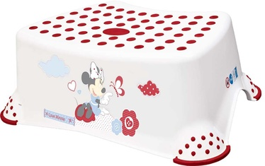 OKT Kids Step Stool Minnie White 8445
