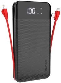 Dudao Dual USB 3in1 Power Bank 10000mAh Black