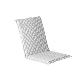 Home4you Florida Chair Cover 42x90x3cm White/Grey