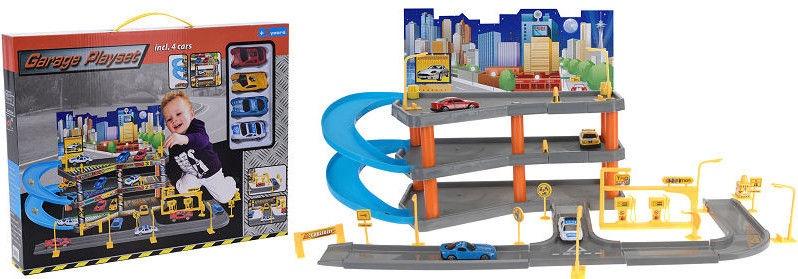 Автомобильная стоянка Parking Garage Play Set 114564