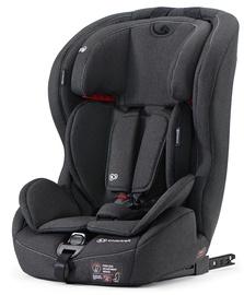 Mašīnas sēdeklis KinderKraft Safety-Fix Black, 9 - 36 kg