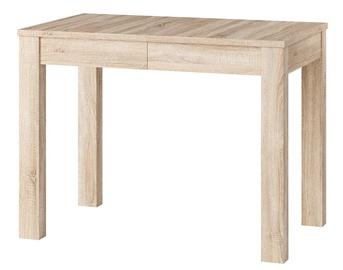 Обеденный стол Szynaka Meble Orion 2 Sonoma Oak, 1000x600x760 мм