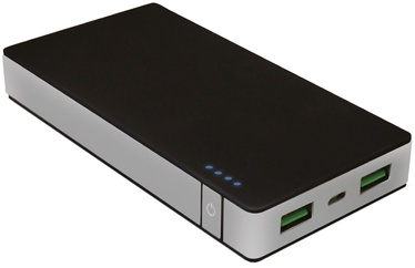 Celly Power Bank 10000mAh Black/Silver