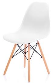 Ēdamistabas krēsls Homede Margot, balta