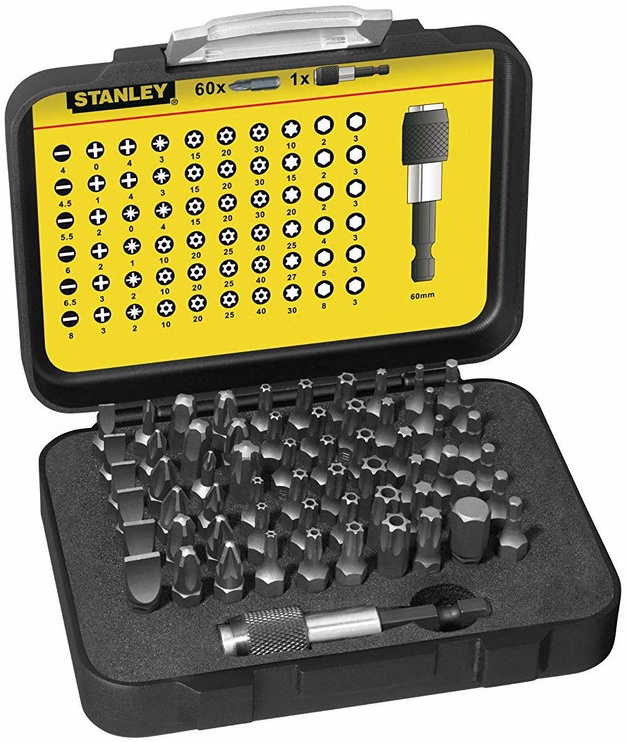 Stanley Bit Set 61pcs 1-13-902