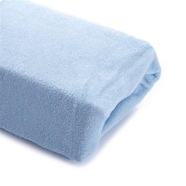 Okko Bed Sheet Terry Light Blue 160x200cm