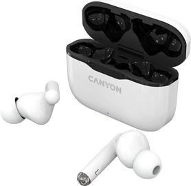 Беспроводные наушники Canyon TWS-3 in-ear, белый